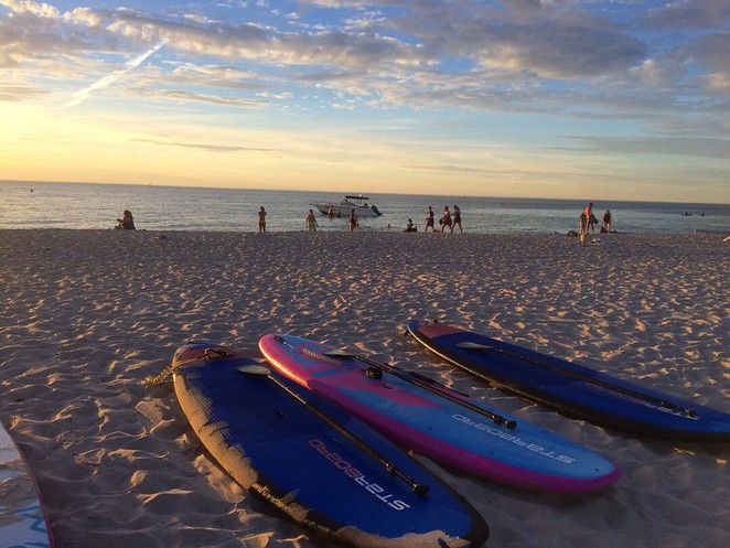 standup paddle boards seacliff