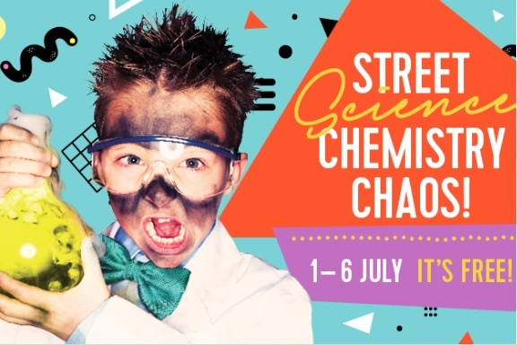 Street Science, Science, Fairfield Gardens, School Holiday, Activity, free