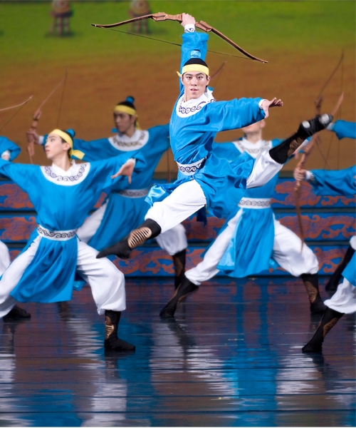 The archers of Shen Yun