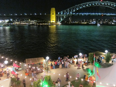 View of El Loco from The Cove at the Sydney Opera House