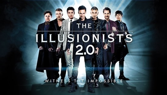 The Illusionists 2.0, magic, Her Majesty's Theatre