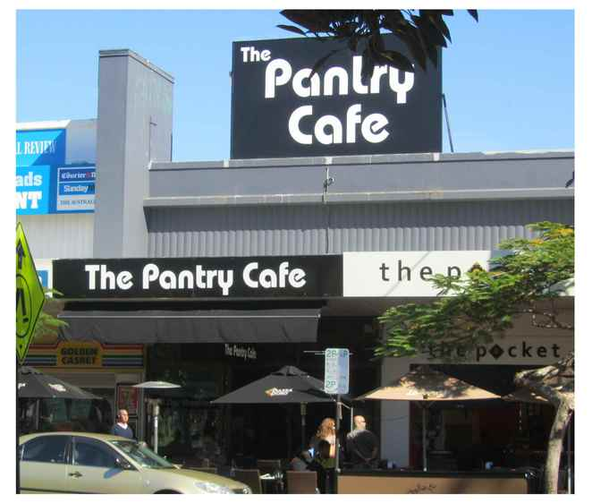 The Pantry Cafe, Burleigh Heads, breakfast, lunch