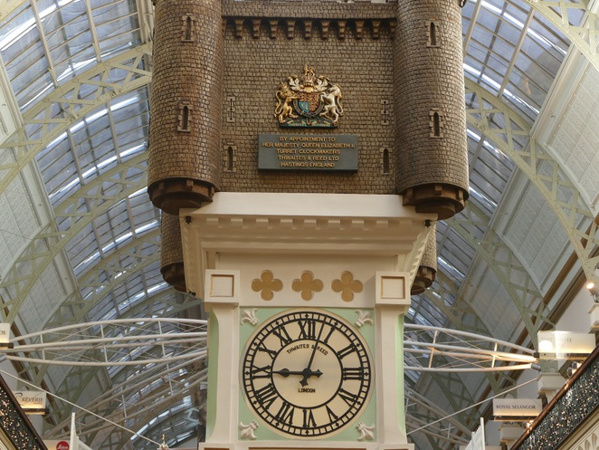 The Royal Clock, QVB, Sydney