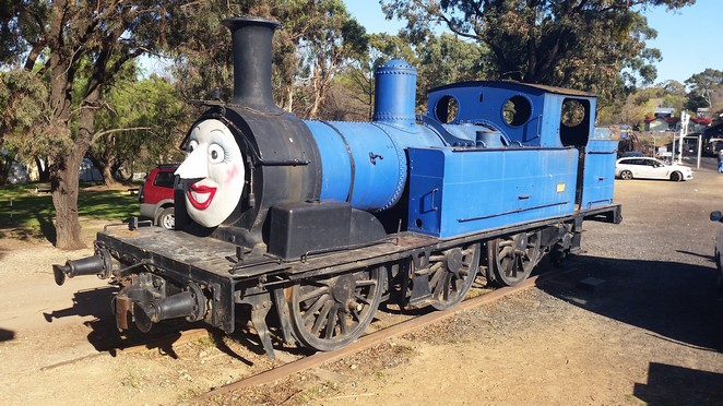 Theresa the Tank Engine.