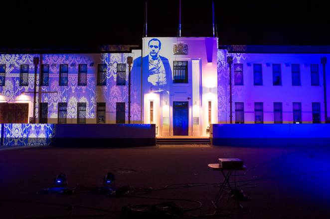 violet verses, violet day, in adelaide, cheer up society, history sa, torrens parade ground, sound and light, son et lumière, family entertainment, illuminart adelaide