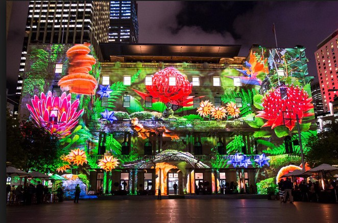 Vivid Sydney Enchanted Sydney Spinifex Group