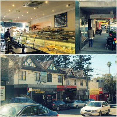 Wahroonga Village, Wahroonga, Wahroonga cafe, Bonjour Patisserie, French cafe, Wahroonga Park