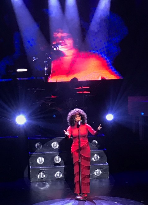 whitney houston, show, the greatest love of all, music, live, performance, concert, tribute show, melbourne athenaeum, belinda davids