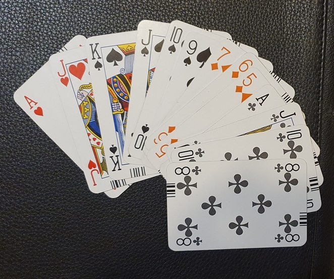 Cards At the Beginner Lessons you will learn how to bid this hand
