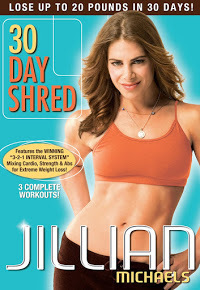 30 day shred exercise fitness jillian michaels