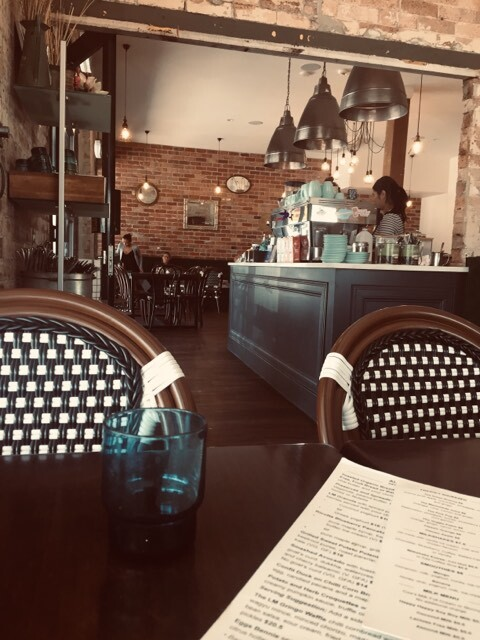 french, seating, lady marmalade cafe, stones corner, logan road