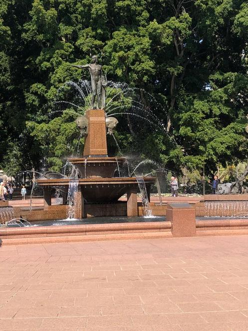 Archibald Memorial Fountain, Hyde Park Sydney