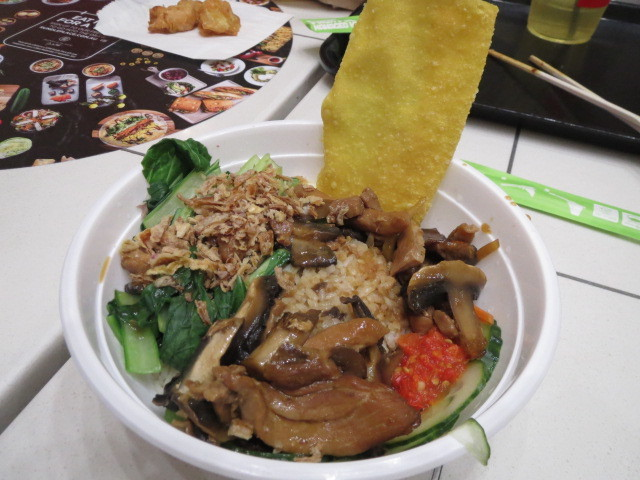 Bakmi Lim Noodle Project, Chicken and Mushroom with Rice, Adelaide