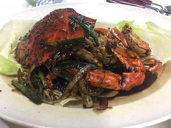 Black pepper crab, best foods singapore, spicy, seafood, asian
