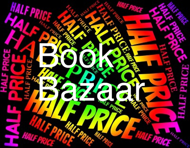 Book Bazaar Half Price Extended Hours Sale