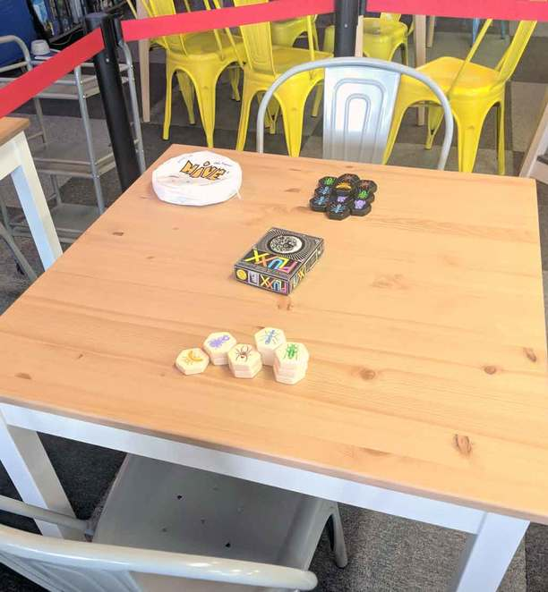 BrainHackr, Holey Cheezus, grilled cheese, board game cafe, prospect