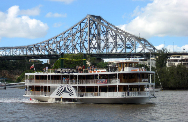 The Kookaburra Queens are one of the best cruising experiences on Brisbane River