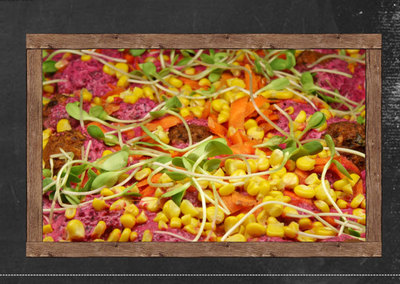 The Cardamom Pod serves a variety of wholesome salads. This image is from the Cardamom Pod website.