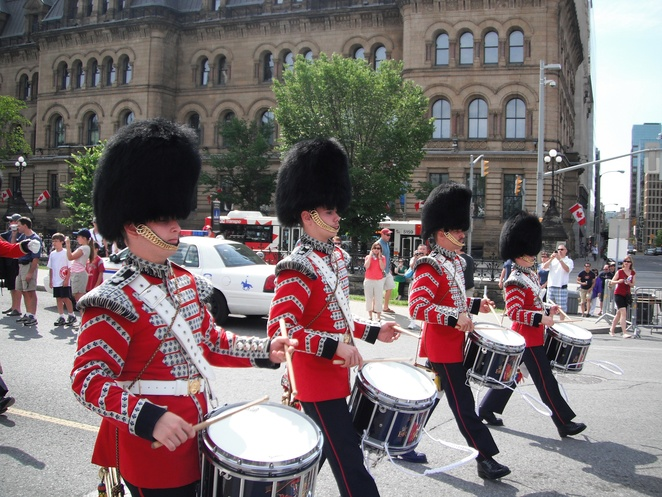 Changing of the Guard parade, Ottawa