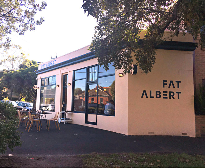 fat albert, cafe, restaurant, albert park, food and drink, brunch, lunch, breakfast, coffee, latte, chai latte, japanese influenced cuisine, matcha latte, indoor dining, outdoor dining, fun things to do, family fun, family lunch