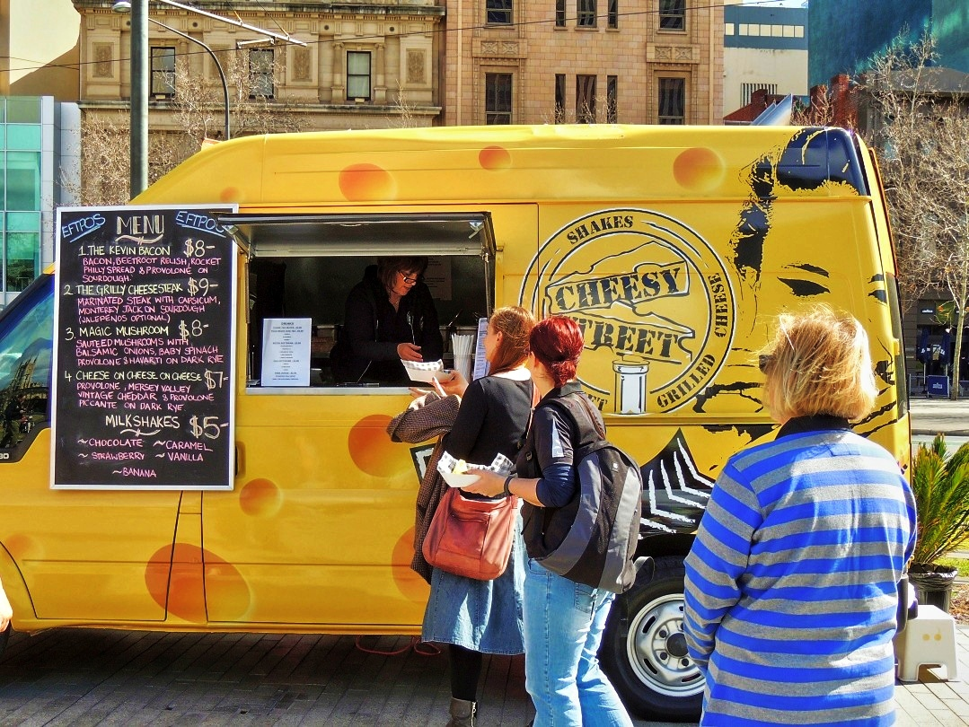 Cheesy Food Truck Menu