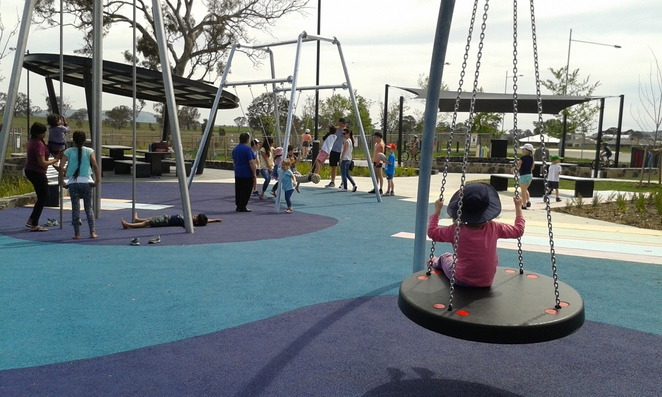 franklin rereational park, canberra, gungahlin, best parks, best playgrounds, canberra, ACT, family fun,