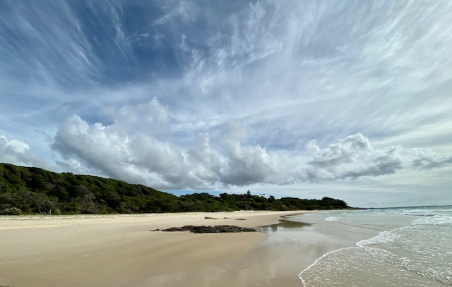 The beach is named after four French-speaking men who were stranded here in the 19th century