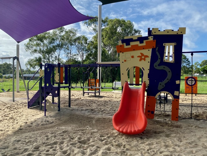 Younger childrens' play equipment