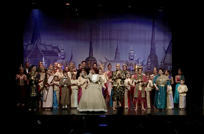 Full cast of The King and I, Musical, Rockdale Musical Society, Rockdale Town Hall