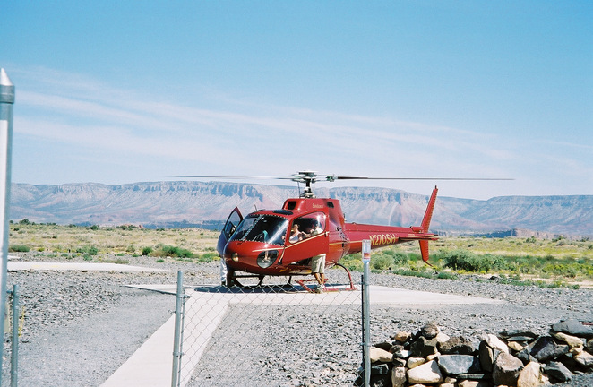 grand canyon, helicopter