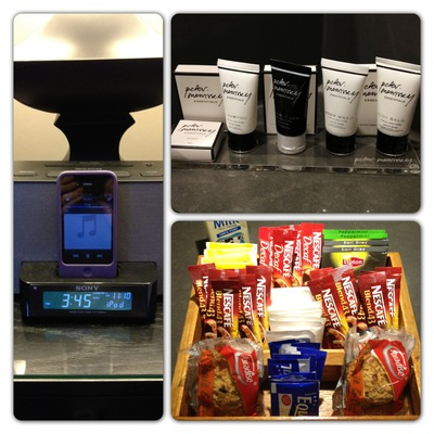 Grand Mercure Melbourne Flinders Lane Apartments amenities sony dream station ipod iphone tea coffee biscuits refreshments peter morrisey toiletries