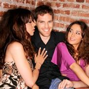 guy with two girls