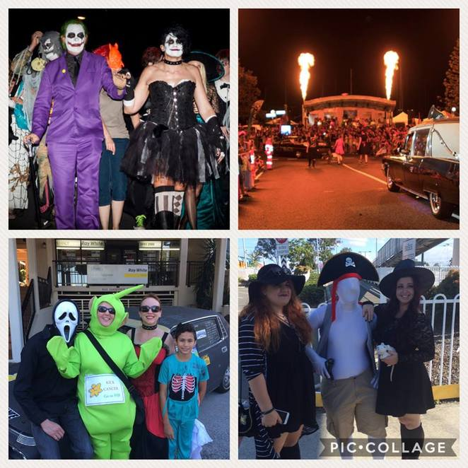 Halloween; Manly Harbour;