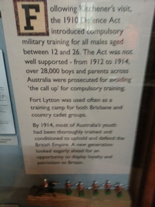 History, Fort Lytton, Military, Places