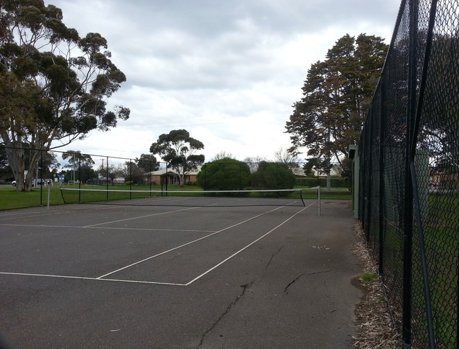 JF Field Playground, Marshall Reserve, Marshalltown road, Geelong,tennis courts, J F field pavilion