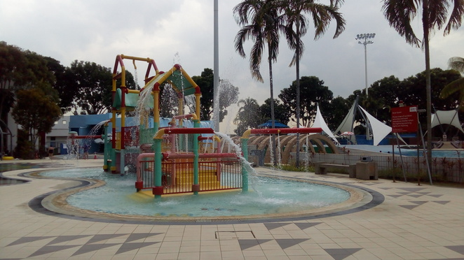 Jurong East Swimming Complex, kiddy pool, singapore