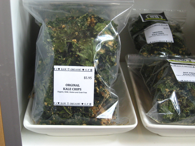 kale, kale chips, healthy snack, Good to Go, healthy take out, healthy food, raw snacks,