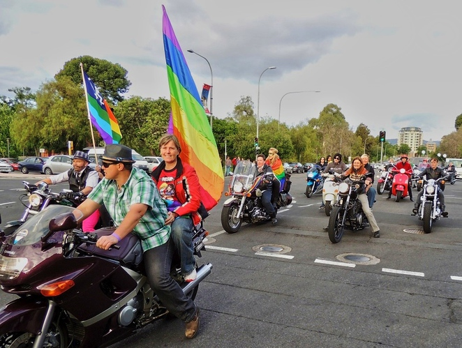 lesbian and gay, fun things to do, feast festival, in adelaide, regions of south australia, picnic in the park, lion arts centre, pride march, lgbtiq, dykes on bikes