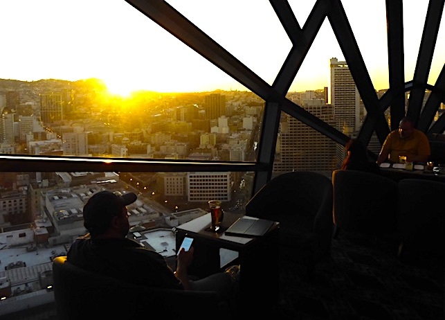 Marriott Marquis View lounge san francisco