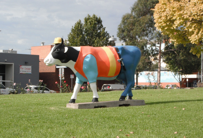 Moooving Art Project Shepparton