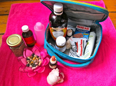 Natural Medicine Travel Kit - Naturopath's own