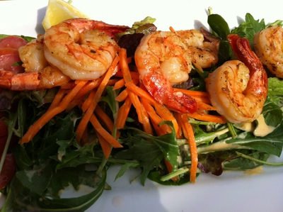 North Bondi RSL Grilled Prawn Salad