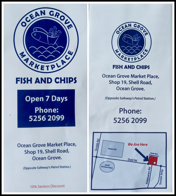 Ocean Grove, MarketPlace, fish and chips, seafood, takeaway