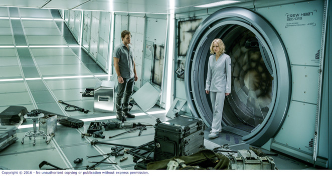 Passengers - Jennifer Lawrence and Chris Pratt