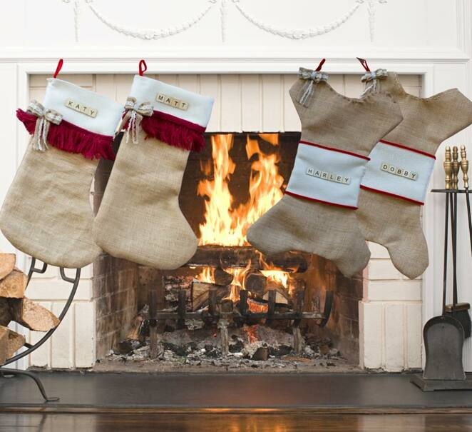 Personalised Christmas Stockings Workshop