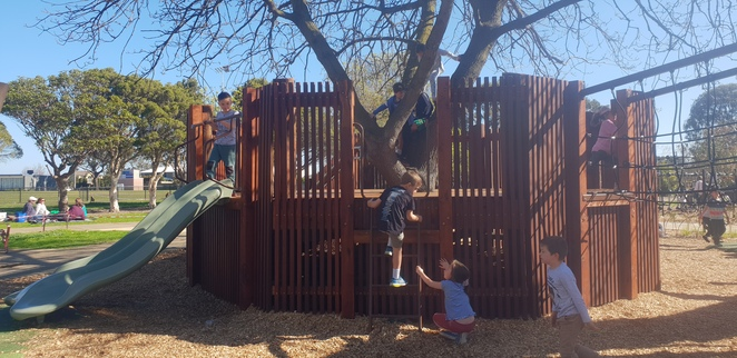 playground, melbourne, kids, new
