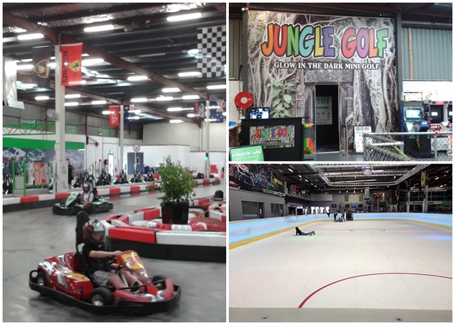 powerkart raceway, griffith, iskate, indoor, synthetic skating rink, indoor mini golf, glow in the dark mini golf, ACT, indoor, night, family, kids, open late, teenagers, parties,
