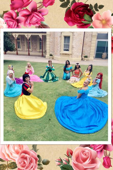 princess parties adelaide