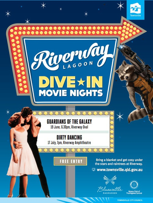 Riverway Movies, Moonlight Cinema Townsville, Riverway Precinct, Riverway Moonlight Markets, Townsville Markets