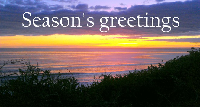 seasons greetings, seaford sunset, seaford south australia, sunset south australia